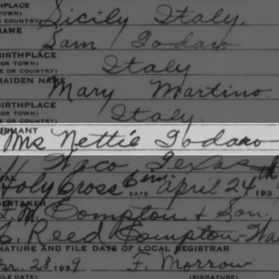 Mrs. Nettie Todaro