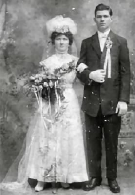Joseph and Barbara Nebenfuhr Wedding