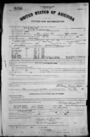 Petition for Naturalization (1920)