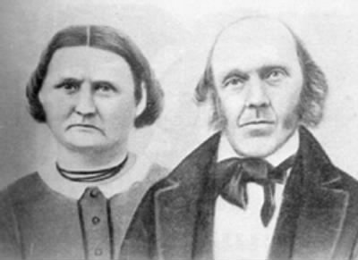 Dwight Harding and Phebe Holbrook