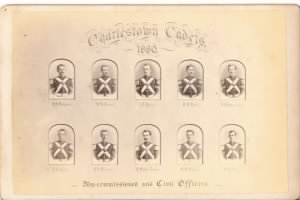 Charlestown Cadet 1880  Non Commissioned & Civil Officers