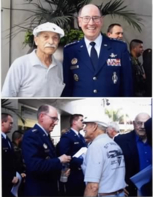 General Kehler, USAF Space Commander and George Underwood, AF Week, Nov. 2008
