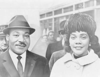 Dr. and Mrs. King in 1964 - Fold3.com