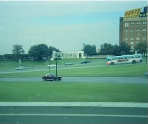 Dealey Plaza, Nov. 8, 1967