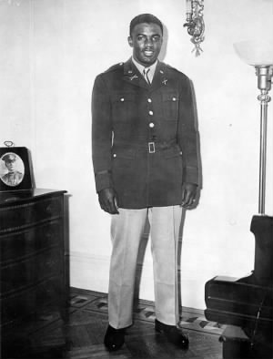 Jackie Robinson in the Army