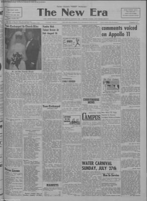 1969-Jul-24 The New Era, Page 1