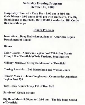 2008 451st Bomb Group Reunion Program - Page 2
