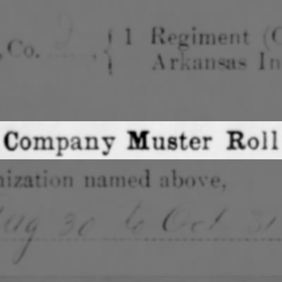Company Muster Roll