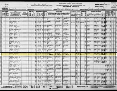 Harry Orchard - From the 1930 Census of Prisoners at the Idaho Penitentiary