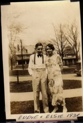 Elsie Claire Idle and Edison Mitchell Idle 1930