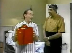 Howard Cosell on SNL with Ed Grimley