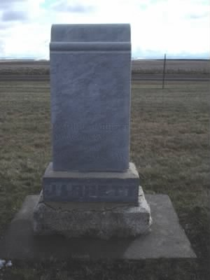 Headstone of Mark V. Jarrett