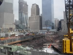 Site of South Tower of World Trade Center
