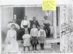 John Albert Johnson Family