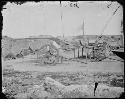 Mathew B Brady Collection of Civil War Photographs › B-3 Fort Johnson. - Fold3.com