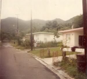 By my aunt's house in Quebrada Seca, PR