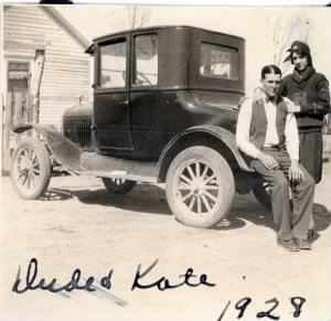 Kate and Dude, 1928