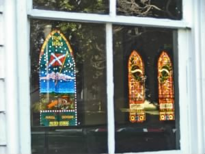 Chapel Windows - Purcell and Crenshaws Battery