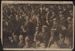 President Taft applauding double by Honus Wagner › Page 1 - Fold3.com