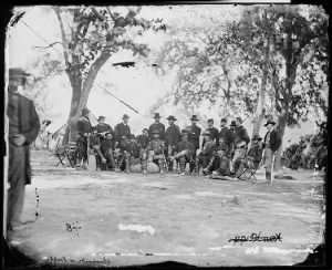 B-48 General Ambrose B. Burnside and Staff of Twenty...