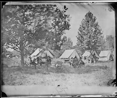 Mathew B Brady Collection of Civil War Photographs › B-79 General Ulysses S. Grant and Group (At City Point.) - Fold3.com