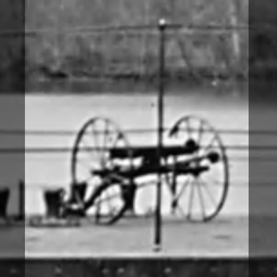 Dahlgren Boat Howitzer on iron carriage