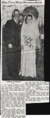 fh-nvd famd Norman Van Duncan Marries Flora Annie Miles -- Wedding Reception 29 Apr 1948-01.jpg