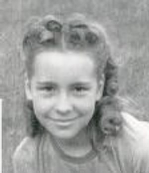 Sandy Edlund as a girl in Miles City, MT