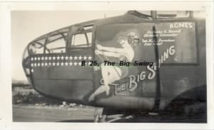 "Capt. Erle ""SWANNY"" Swanson 321st Bomb Group, 448th BS /MTO /WWII"