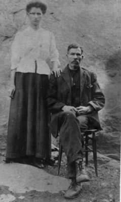James C Stephens and Addie Willard Stephens
