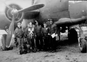 Victor and his Combat Crew, 1945