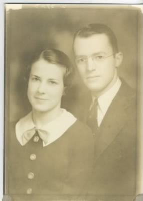 Lewis Jennings Geerlings and wife, Marion Rock