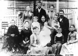 John L. Haworth family