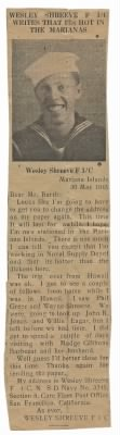 1945 News Article