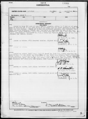 """War Diary, 9/1-30/43 (Act Rep, """"AVALANCHE"""") › Page 2 - Fold3.com"""