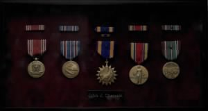 John Cheresli's WWII Medals and Awards
