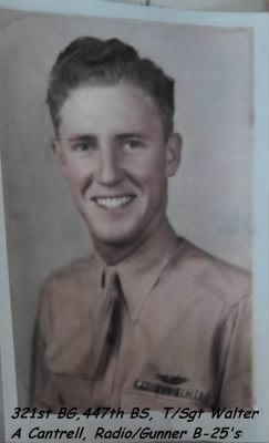 Walter is about 20.... AAC WWII