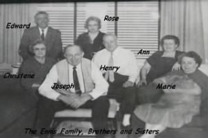 "The ""Gene"" Eugene and Helen (Carswell) Ennis Children"