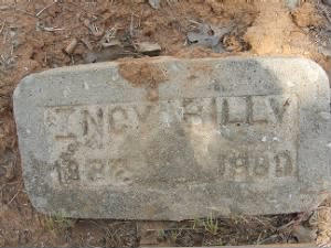 Incy Billy Grave Marker