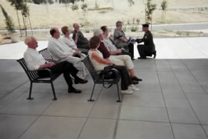 Military Honors for Fred Lawrence, Friends at the ceremony, July, 2011