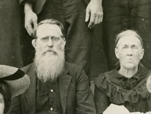 Silas Randolph Price and wife Sarah Ann England