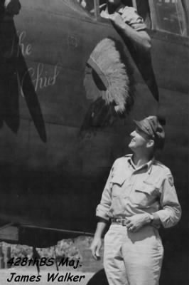 428th Bomb Squad Commander, Maj James P Walker, KIA 7 Sept. '43