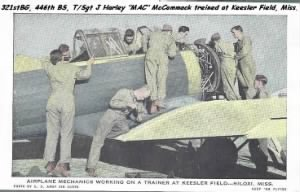 "T/Sgt ""MAC"" Trained at Keesler Field, MISS."