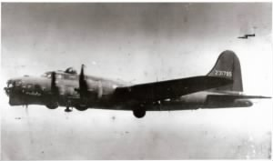 "B-17G ""Pysonya"" 42-31795 in Flight"