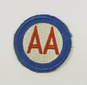 AA shoulder patch