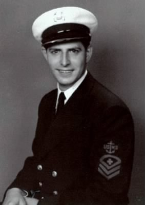 Ralph was in the Navy in WWII