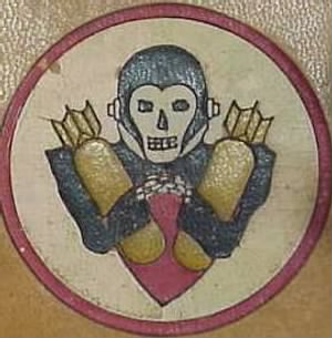 "310th Bomb Group, B-25's in the MTO __This the ""428th Bomb Squad* Emblem"