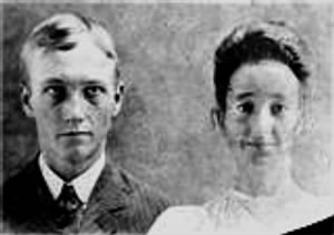 "1st Husband Albert Lee ""Levi"" Lankford & Matilda Hatfield"