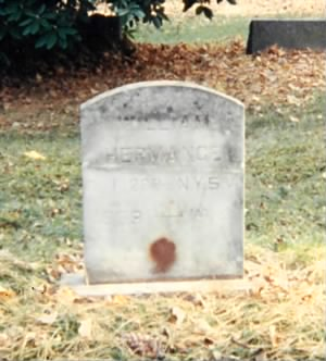 Grave of William Luther Hermans/Hermance