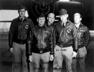 Crew 1 with Jimmy Doolittle is Lt Richard E Cole